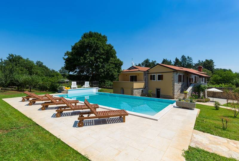 Villa Sany with private pool, beautiful garden and children playground